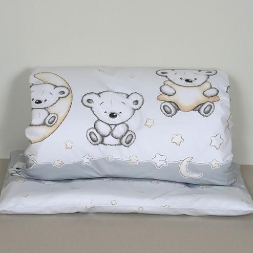 "2 parts bedding set ""Grey Bear"""