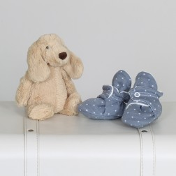 "Baby shoes ""Luke"", special offer - 30%"