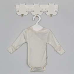 Merino wool body with silk