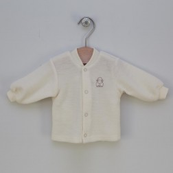 Merino wool baby jacket